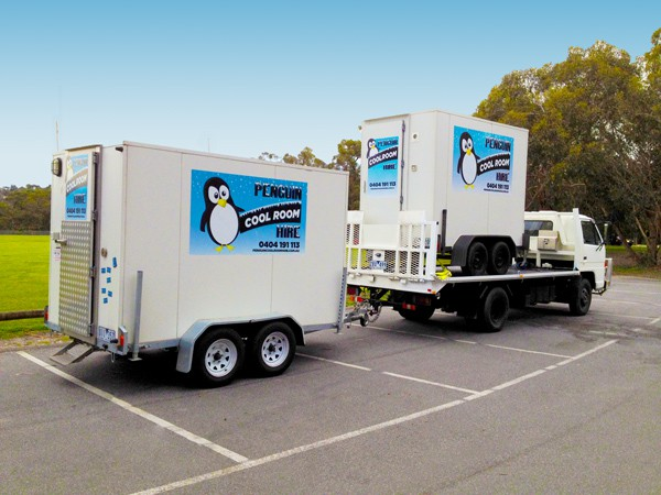 Cool Room penguin cool room hire | portable refrigeration | mobile