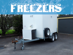 mobile freezer, mobile cool room