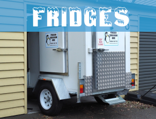 portable freezer, mobile freezer room, catering freezer